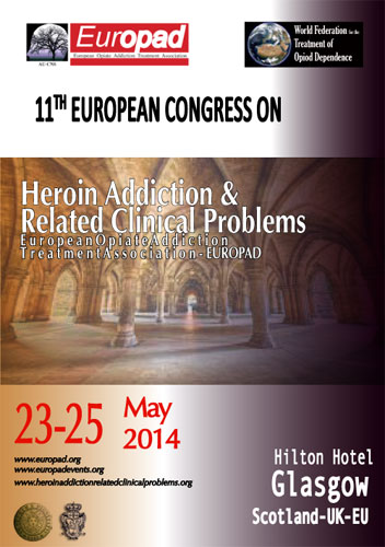 11th European Congress on Heroin Addiction & Related Clinical Problems European Opiate Addiction Treatment Association