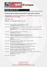 World and European events - Europad the European Opiate
