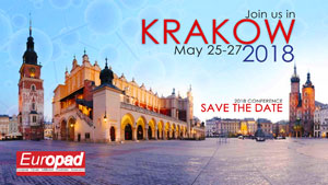 Europad conference Krakow 25-27 May 2018