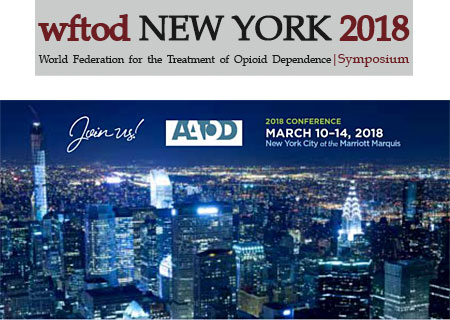 World Federation for the Treatment of Opioid Dependence - Symposium - New York 2018